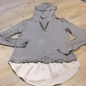 Juicy couture hooded shirt